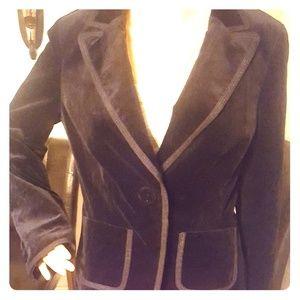 Ann Taylor velour black jacket